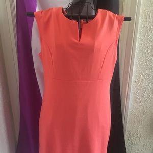 Attention Peach Stealth Dress
